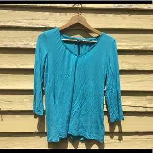 Women's Medium Baby Blue Shirt